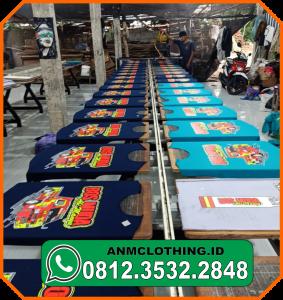 Jasa Sablon Kaos Event NO. 1 Di Surabaya